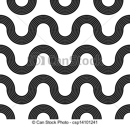 Line clipart wave Of b seamless seamless EPS