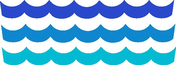 Line clipart wave Clipart Waves WikiClipArt wave wave