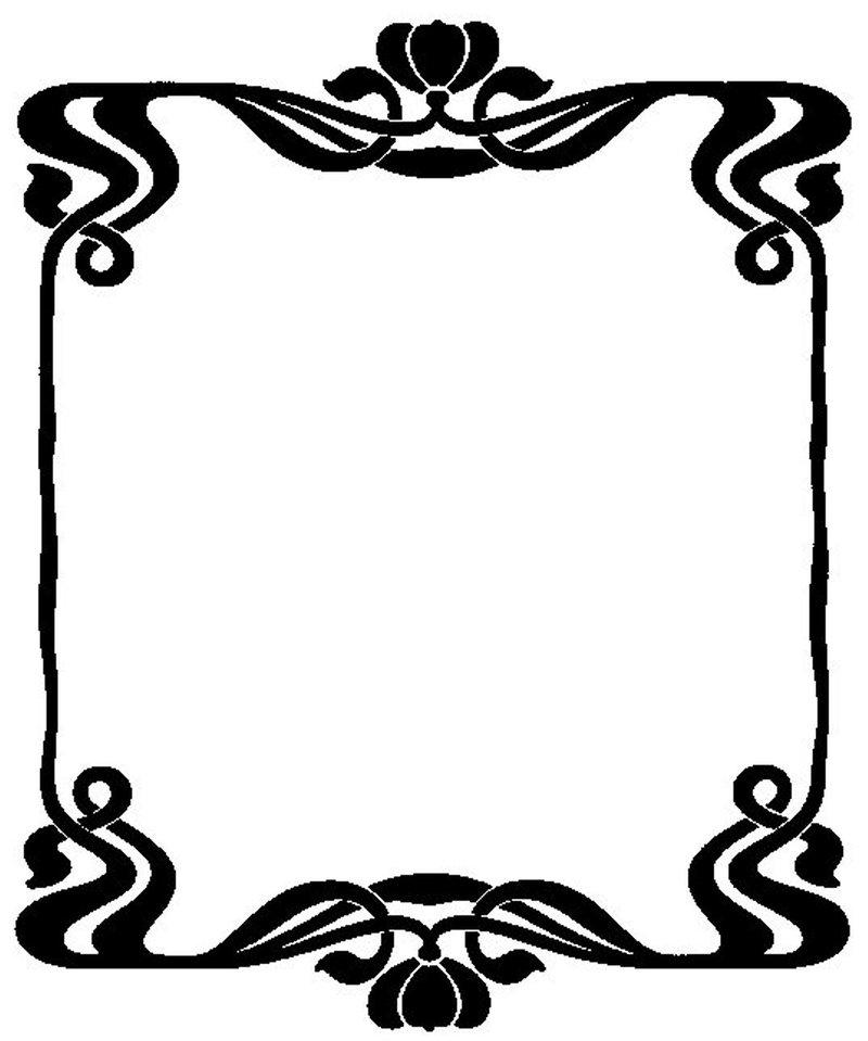 Button clipart art frame Download Free Art Clip Border