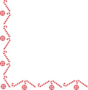 Lines clipart candy cane #12