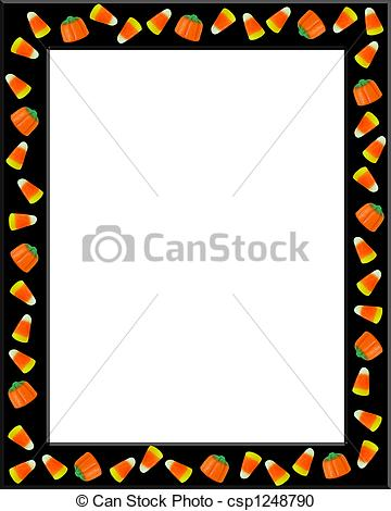 Lines clipart candy corn Corn csp1248790 Halloween Image Candy