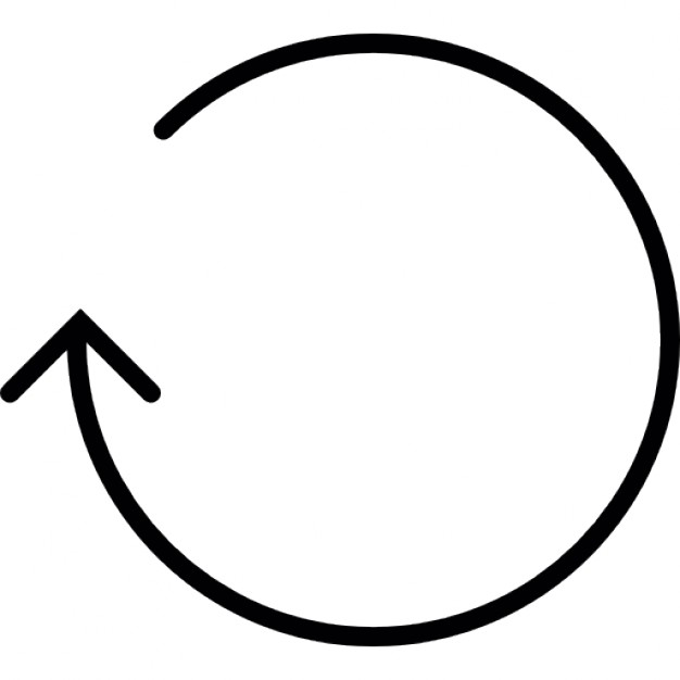 Lines clipart circle Thin circle Arrow Icon Download