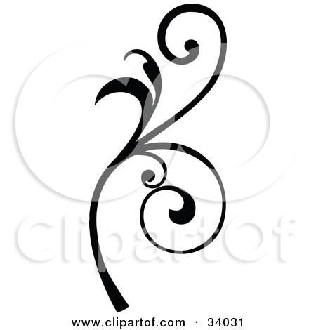 Scroll clipart vine Clipart Clip Curly Art Scroll