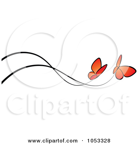 Orange clipart divider Free and Clipart bars and