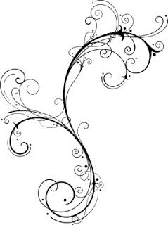 Lines clipart filigree Rosemaling Find and Line on