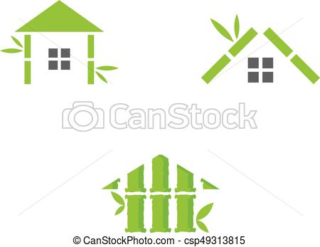 Lines clipart green House clip stock stock Bamboo