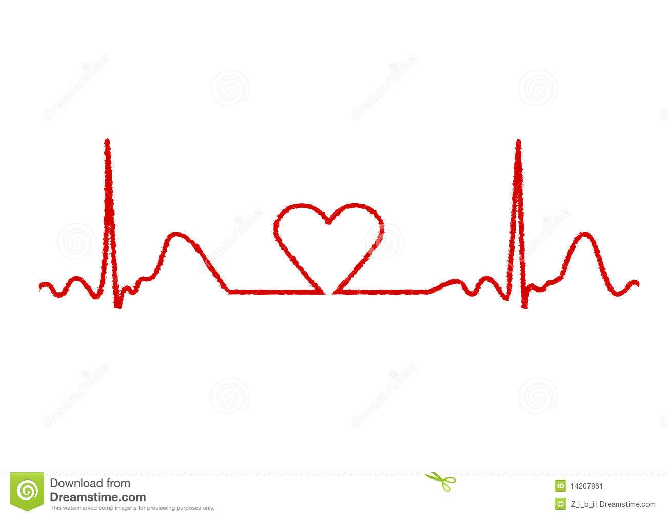 Lines clipart heart rate Line Heart Clipart Clipart Line