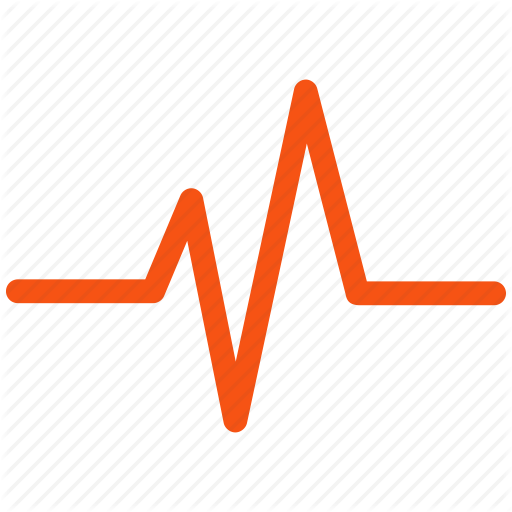 Lines clipart heart rate Cardio redemit pic Line Red