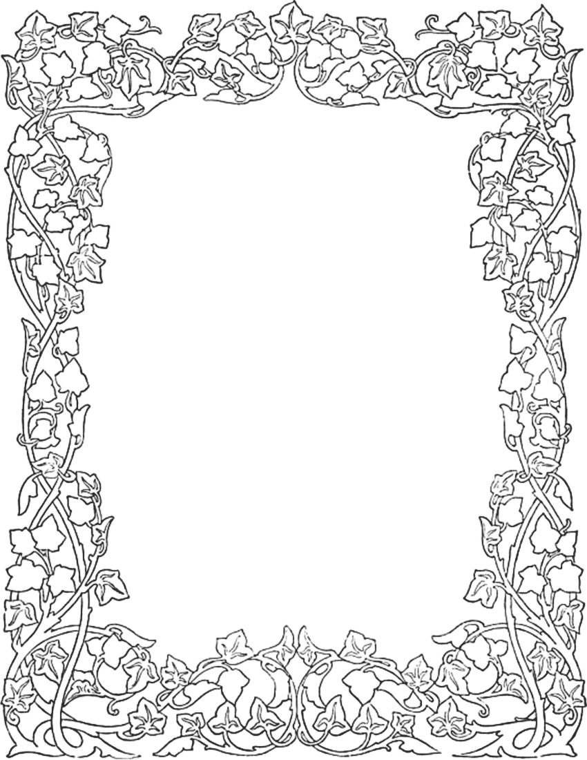 Lines clipart ivy Ivy border Ivy Alte ivy