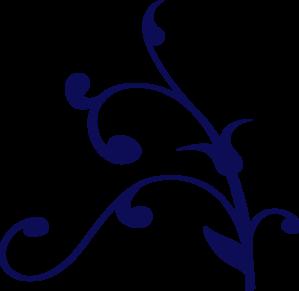 Dark Blue clipart swirl Online com Navy Clip Clker