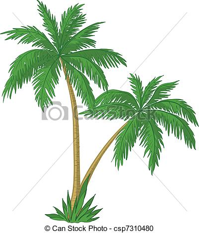 Lines clipart palm tree #15