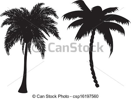 Lines clipart palm tree #10