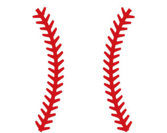 Lines clipart red Wall Design Giant Lines Baseball