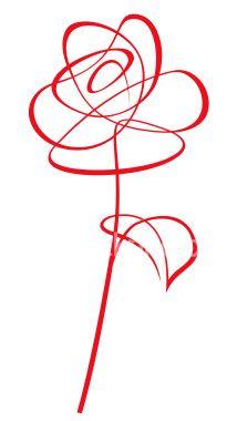 Drawn red rose vector Clip Pinterest Free Rose Sailboat