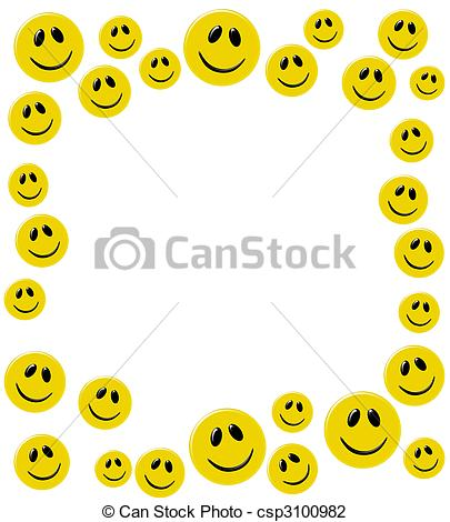 Smileys clipart yellow Of  on of Clip