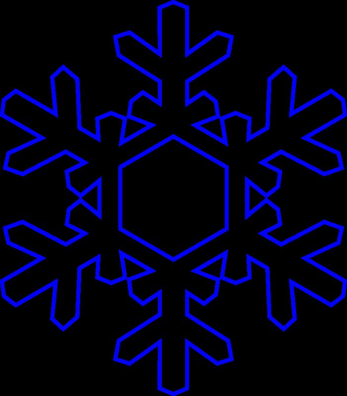 Snow clipart simple snowflake Clipart snowflake Clipart Panda Free