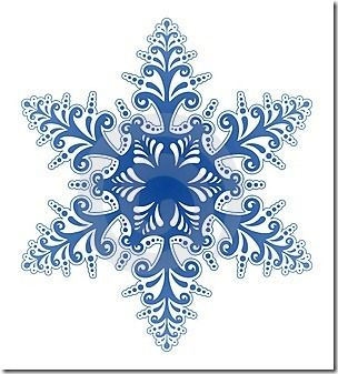 Holydays clipart winter wonderland Snowflakes Pinterest stitched tree own