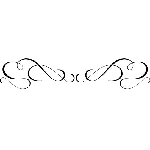 Lines clipart swirl Things Border Cliparts Art art