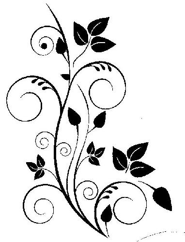 Swirl clipart stencil  a Imgs and Design