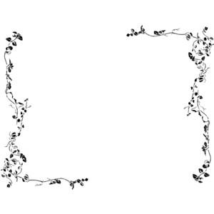 Lines clipart vine Borders Vine #19140 image Vine