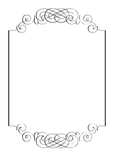 Wedding clipart boarder Border clip for invitation art