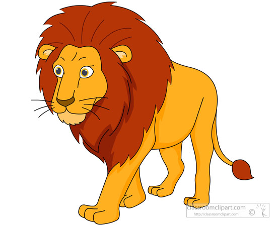 Moving clipart lion Kb male Lion Illustrations Pictures