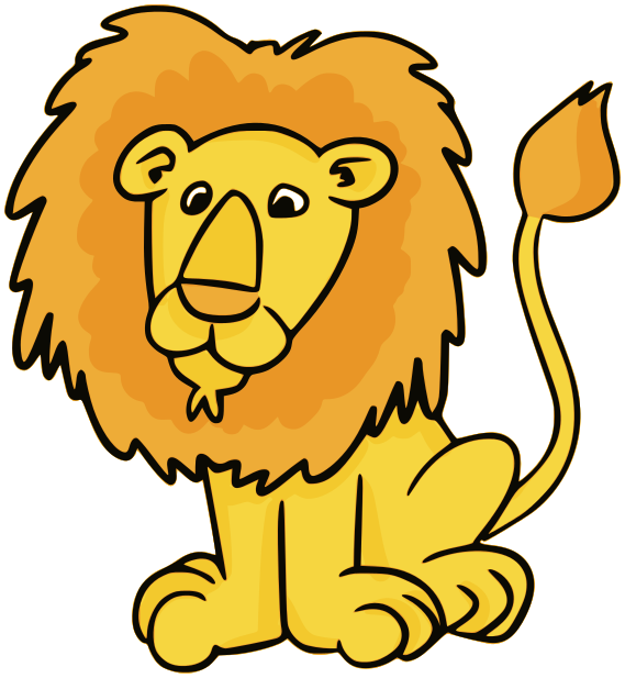 Animal clipart lion Kids Clipart Panda Art For