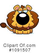 Lion clipart drunk #3