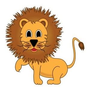 Lion clipart easy #12
