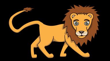 Lion clipart easy #5