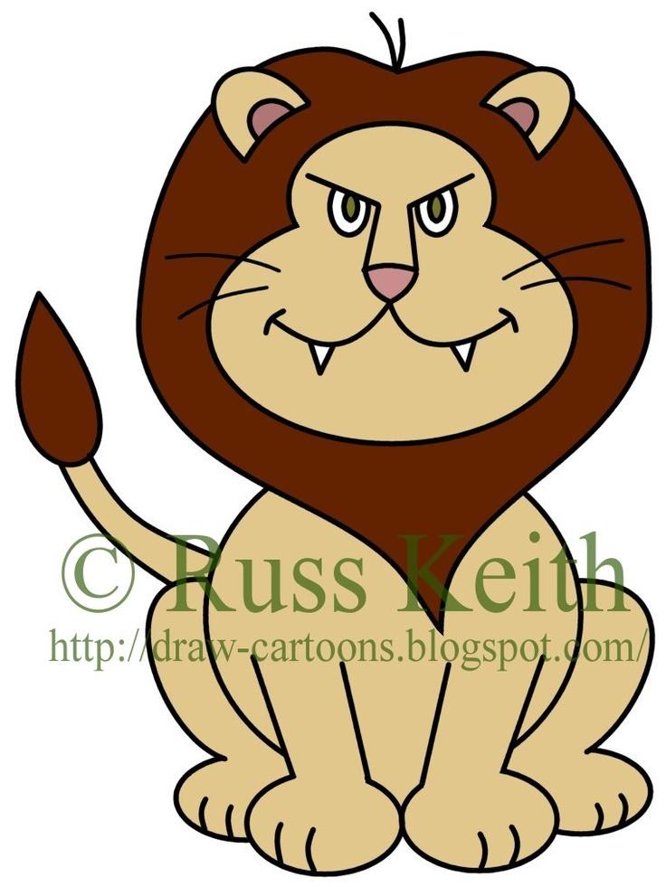 Lion clipart easy #13