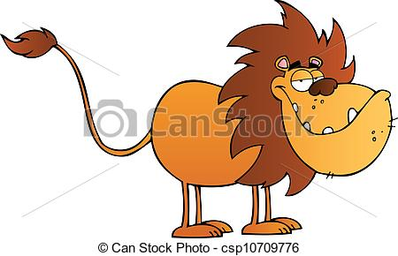 Lion clipart funny #5