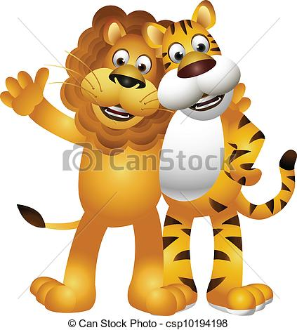 Lion clipart funny #3