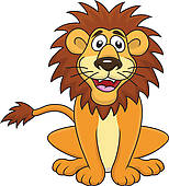 Lion clipart funny #10