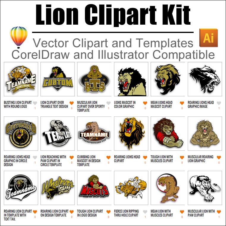 Lion clipart tough #8