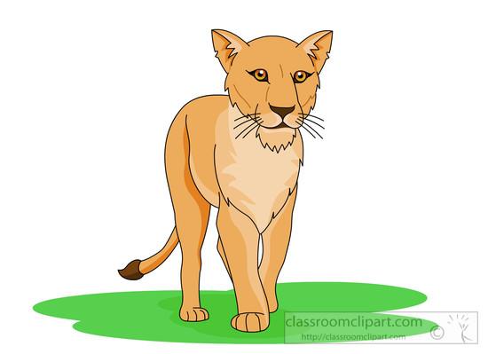 Lioness clipart Size: Kb Clipart Free Art
