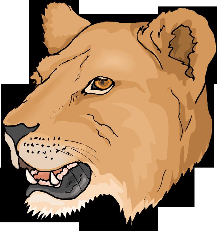 Lioness clipart Page – Clipart – Else