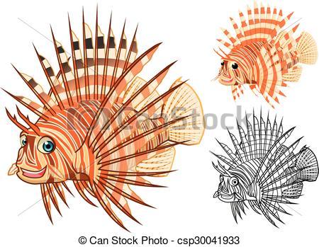 Lionfish clipart High Lionfish Lionfish  Lionfish