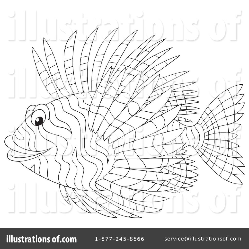 Lionfish clipart Alex Bannykh #1059731 Clipart #1059731