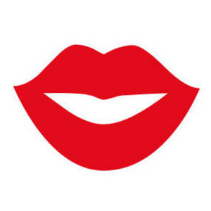 Lips clipart funny Clip Free Art Free Kiss
