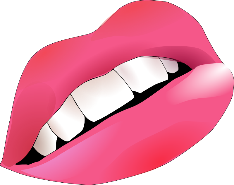 Kisses clipart animated Womans Mouths Clipart Lips Lips