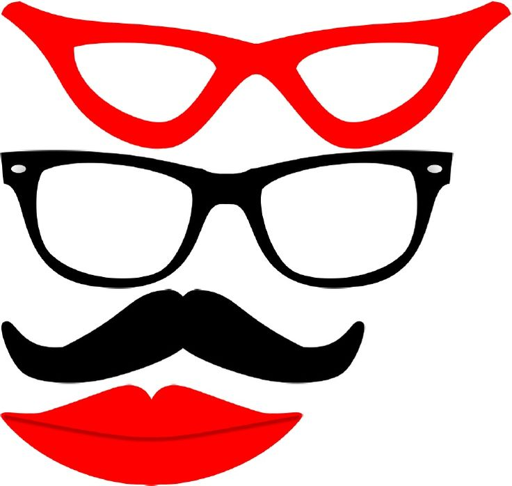 Lips clipart aviator sunglasses Pin more best Moustaches Pinterest