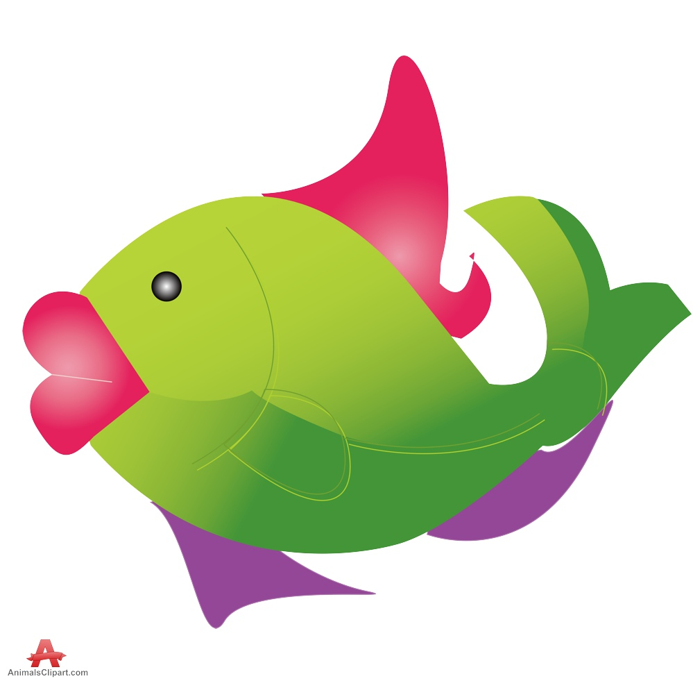 Lips clipart big lip With Green Fish Clipart Clipart