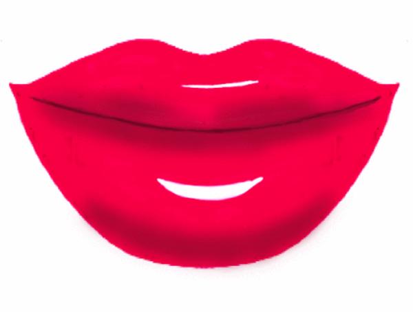 Lips clipart big lip Vector Lips online royalty art