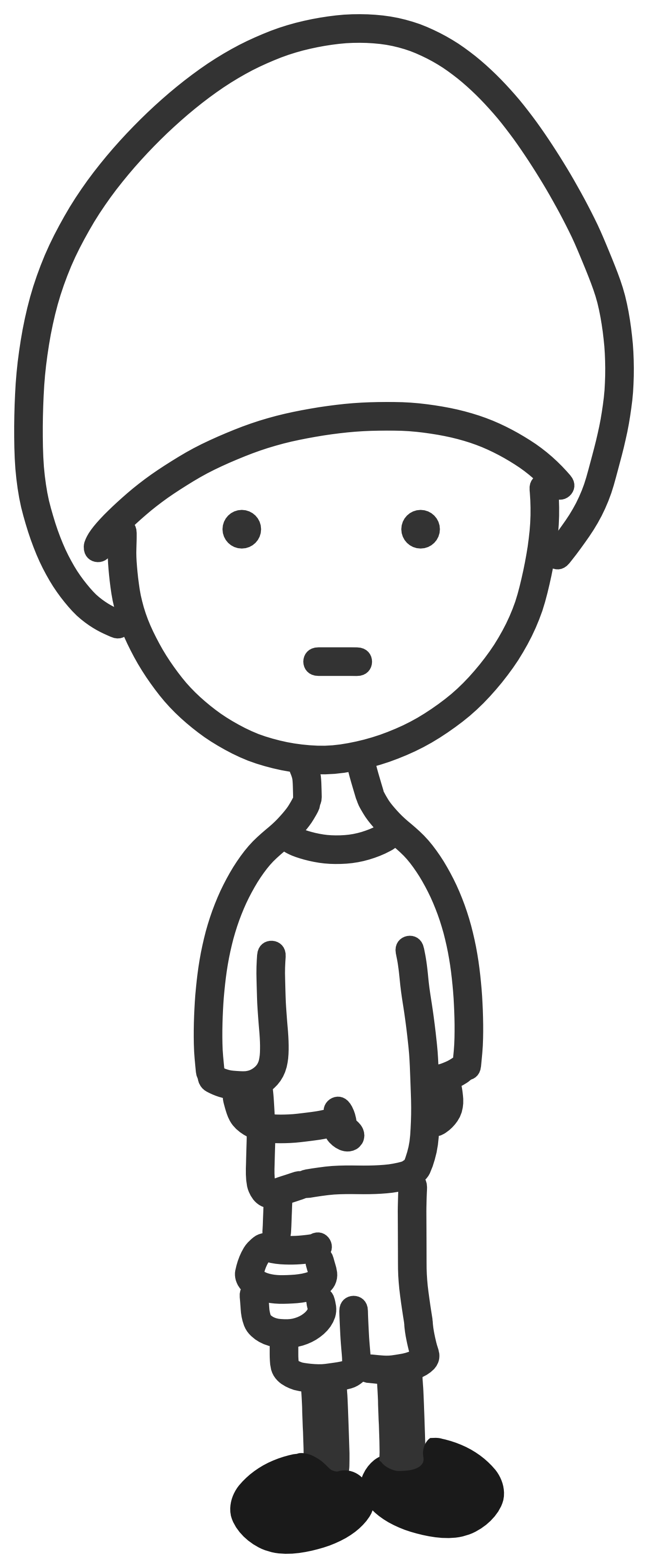 Lips clipart boy Black And White Cliparts Boys