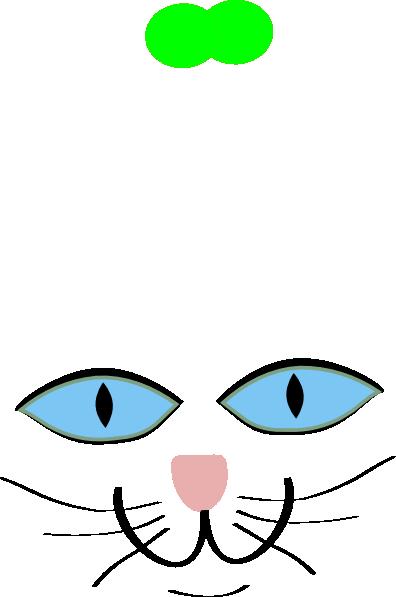Blue clipart cat eye Cat cat Library eye clipart
