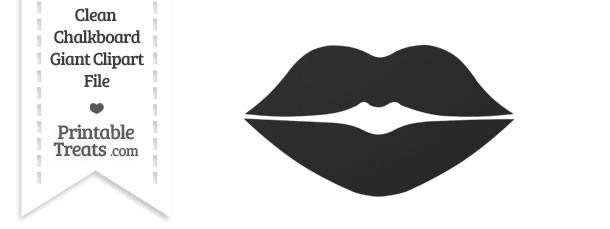 Lips clipart gray Treats lip com — Clipart