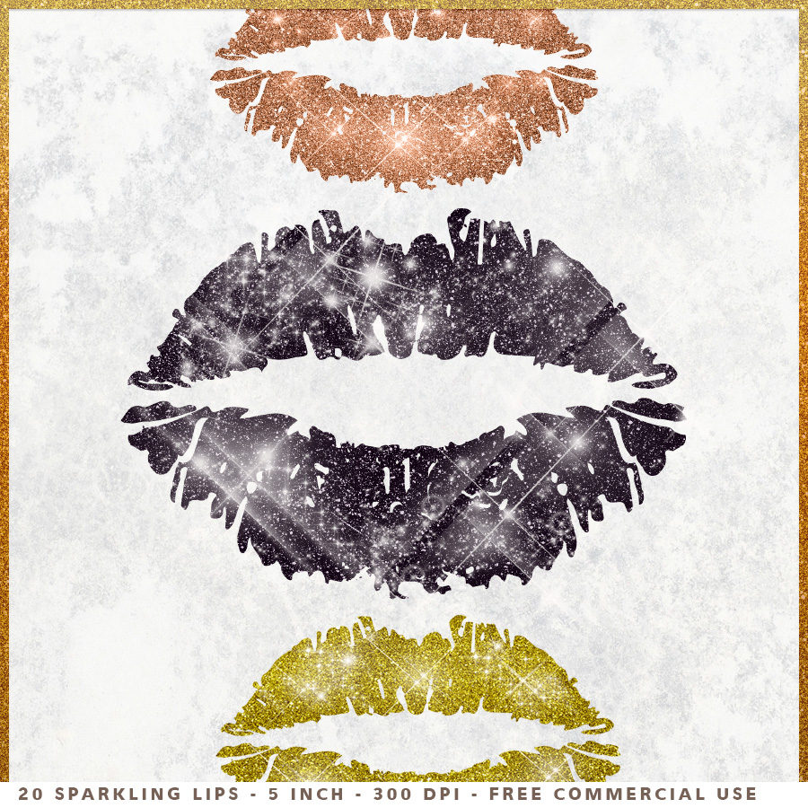 Lips clipart gray Clipart Glitter is Makeup file