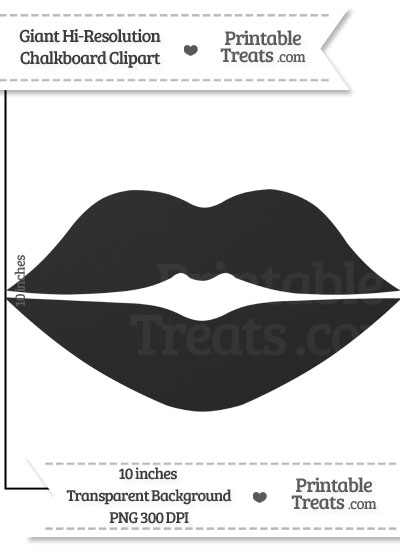 Lips clipart gray Com Printable Giant Clean from