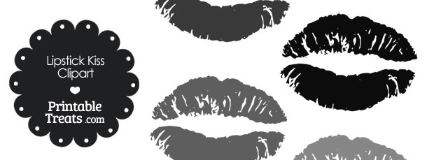 Lips clipart gray Lipstick — in Kiss of